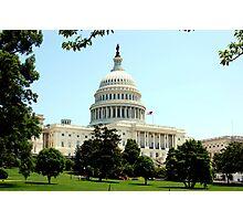 US Capitol Photographic Print