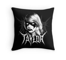 I Knew You Were Trouble (When You Burned That Church) Throw Pillow