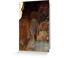 Alien World by A. Frances Greeting Card