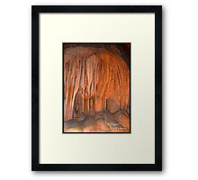 "Bouquet,     ""Caverns Series""       Photographer A. Frances Framed Print"