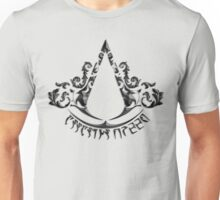 Deadric Script Assasin's Creed Logo Unisex T-Shirt