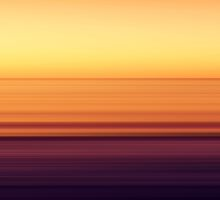 North Sea in sunset colors by novopics