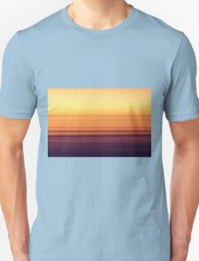 North Sea in sunset colors Unisex T-Shirt