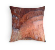 "Cascade     ""Caverns Series"" Throw Pillow"