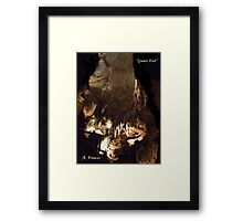 Giants Foot Framed Print