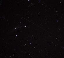 Andromeda & Satellite by Daniel Owens