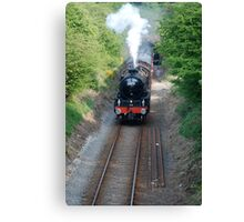 steam special to boulby mine Canvas Print