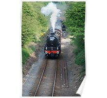 steam special to boulby mine Poster