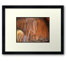 Curtians II Framed Print