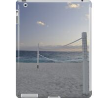 beach volleyball anyone? iPad Case/Skin