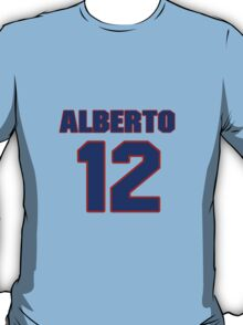 National baseball player Alberto Callaspo jersey 12 T-Shirt