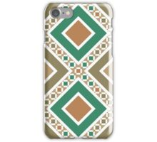 Moroccan wall pattern 11 iPhone Case/Skin