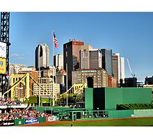 Pittsburgh From PNC Park Photographic Print