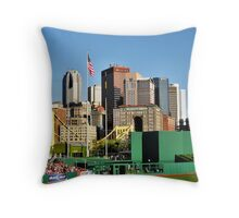 Pittsburgh From PNC Park Throw Pillow