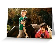 Who's the puppy? Greeting Card