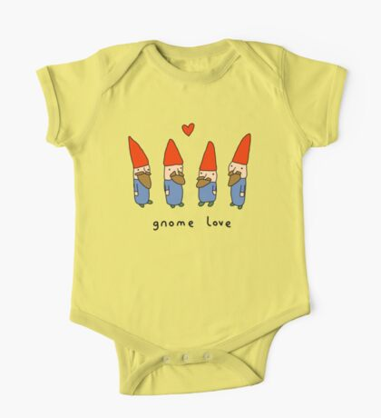 Gnome Love One Piece - Short Sleeve