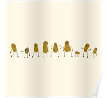 A Group of Nutty Guys Poster