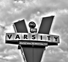 varsity black and white by A.R. Williams