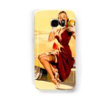 Gil Elvgren Pin up Samsung Galaxy Case/Skin