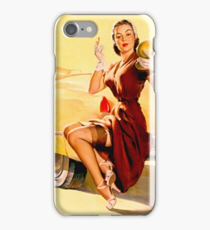 Gil Elvgren Pin up iPhone Case/Skin
