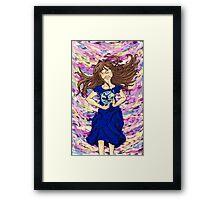 World of color w/o ribbon Framed Print