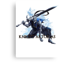 Artorias out of the abyss! - Knight Artorias Text Canvas Print