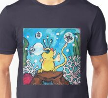 Bubble Blowing Fish Poppler Unisex T-Shirt