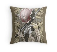 Raiden - MGS4 Throw Pillow