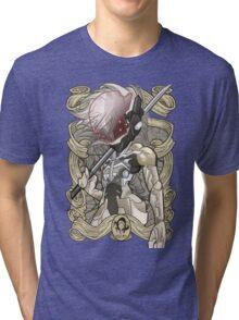 Raiden - MGS4 Tri-blend T-Shirt