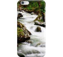 Running stream in the alps.  iPhone Case/Skin