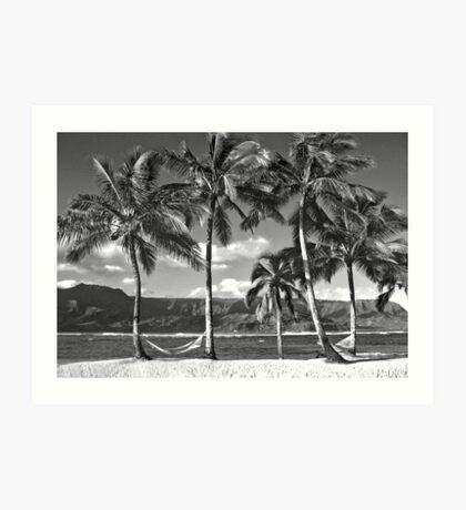 Old Hawaii Art Print