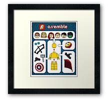 LEGO Avengers Assemble Framed Print