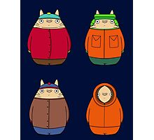 South Park's Neighbors Photographic Print