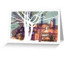 Argyle Street, Carlton Greeting Card