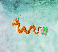Herpy Birthday by Aimée Becker