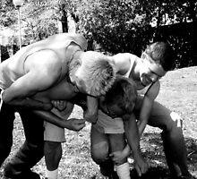 Gym Boys Fantasy Stripped Bare - Foul Play 1 by Edmund Edwards