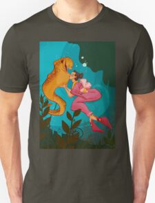 A Girl and her Eel Unisex T-Shirt