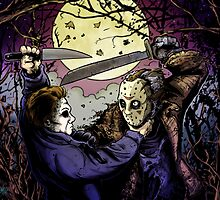 JASON VS MYERS by mrbones
