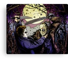 JASON VS MYERS Canvas Print