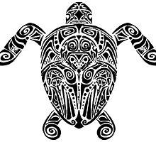 Tribal Turtle by Aimée Becker