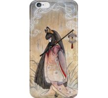 Bad Thoughts - Kitsune Fox Yokai  iPhone Case/Skin