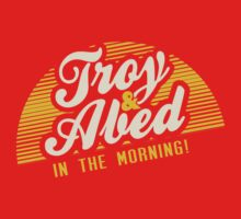 Troy and Abed in the Morning! One Piece - Short Sleeve