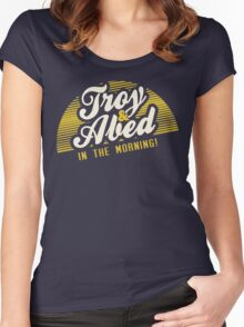 Troy and Abed in the Morning! Women's Fitted Scoop T-Shirt