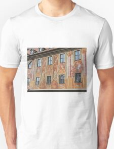 Murals on Wall of Altes Rathaus, Bamberg, Germany T-Shirt
