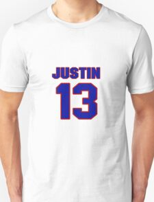 National baseball player Justin Baughman jersey 13 T-Shirt