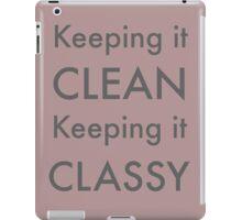 Keeping It... iPad Case/Skin
