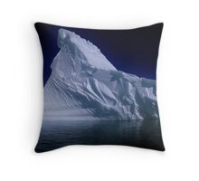 Fractured Berg Throw Pillow