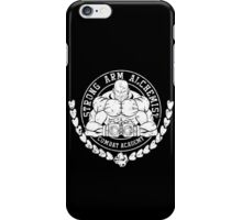 Armstrongs' Combat Alchemy Academy iPhone Case/Skin