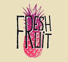 Pineapple fresh fruit illustration by ONiONAstudio