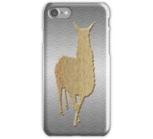 Manly Llama iPhone Case/Skin